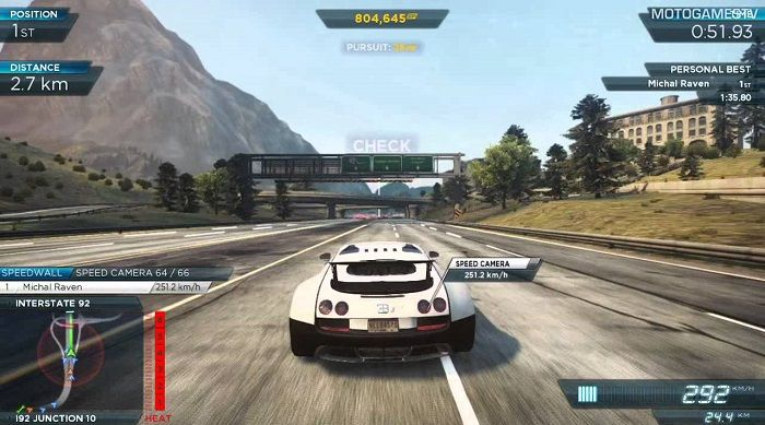 game Need For Speed: Most Wanted
